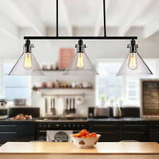 Glass Pendant Light Kitchen Lamp Large Chandelier Lighting Modern Ceiling Lights