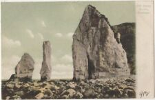 Old Harry Rocks Swanage, F.G.O. Stuart 912 Postcard B807