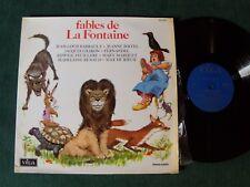 FABLES DE LA FONTAINE - V/A - LP 33T VEGA 340.004 EDWIGE FEUILLERE, MARY MARQUET