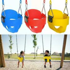 Playground Full Bucket Swing Seat Outdoor Play Kids Toddler Backyard w/ Chain