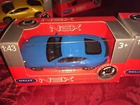 WELLY 1/43 BLUE JAGUAR XKR-S DIECAST CAR VEHICLE COLLECTOR
