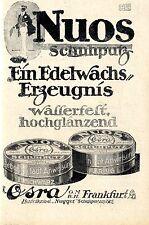 NUOS Scarpa intonaco pregiata cera-prodotto guerra-promozionale di 1917