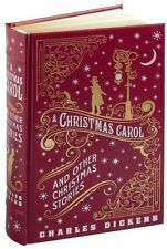 A CHRISTMAS CAROL & More by Charles Dickens Illustrated Collectible LeatherBound