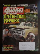Petersen's 4 Wheel & Off Road Magazine October 1995 On The Trail Repairs (AY)