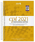 CPT 2021 Professional Edition (CPT / Current Procedural Terminology -Very good