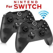 2x Wireless Pro Controller for Nintendo Switch Gamepad Dual Shock für Switch