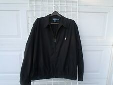 Polo Ralph Lauren Full Zip  Jacket Black Mens Size 2XL  XXL