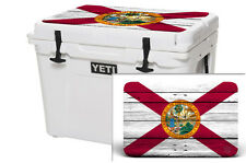Thickest Wrap 24mil Skin Lid for YETI 125qt Cooler - Florida Flag - OS Sale