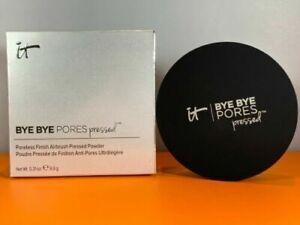 It Cosmetics Bye Bye Pores Airbrush Finish Pressed Powder NEW