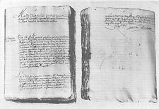 BR38371 Extrait du registre de parlement Roquefort Litographie france