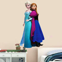 Disney Elsa Anna Frozen Princess Wall Sticker Mural Decal Kids Girls Room Decor