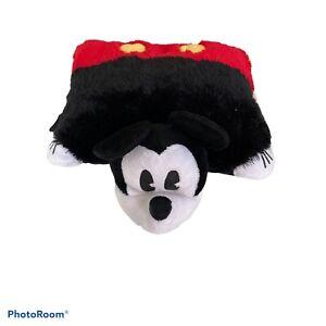 "Mickey Mouse Pillow Pets Authentic Disney 17"" Folding Plush Pillow Large"