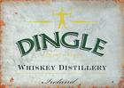 Dingle Irish Whiskey Bar Metal Sign Retro Pub Plaque Man Cave Alcohol Garage UK