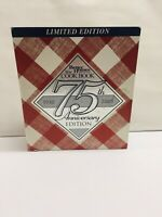Vtg Better Homes and Garden New Cookbook Limited Edition 75th Anniversay Edition