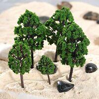 20Pcs 1:100-300 Trees Model Train Railway Park Scenery HO N Z Scale Accessories