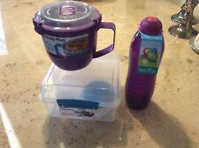 sistema lunch box Set & Bottle
