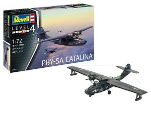 Revell PBY-5A Catalina Wasserflugzeug in 1:72 Revell 03902 Bausatz