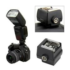 Black Mini Plastic Hot Shoe Adapter Converter For Sony Alpha Flash Cameras NEW