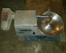 Hobart 84145 Food Cutter/Buffalo Chopper 115V missing lid, tested.