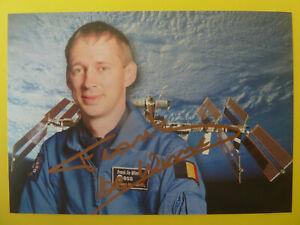 Frank de Winne (BE), Astronaut, Weltraum - ESA Autogrammkarte signiert