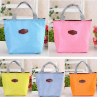 Thermal Insulated Lunch Tote Cooler Bag Picnic Storage Pouch. UK Supplier
