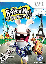 Rayman Raving Rabbits 2 Wii Action / Adventure (Video Game)