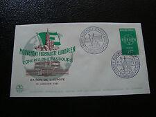 FRANCE - enveloppe 30/1/1960 (mouvement federaliste europeen) (cy19) french
