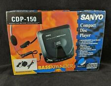 Sanyo CDP-150 BASSEXPANDER Compact Disc Player CD 1995 VTG 90's COMPLETE IN BOX