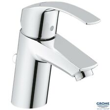 "GROHE 33265 002 Eurosmart Single Lever Basin Mixer 1/2"", S-Size, w/ PUW, Chrome"