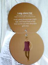 TRIUMPH Damen Longsleeve Top - Gr. 38 - Pyjamaoberteil beige creme NEU+OVP