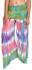 10 Tie Dye Harem Pants for Women - Free Ship USA