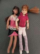 2x Only Hearts Club Dolls Blond and Dark Hair with Outfits