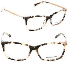 Michael Kors MK4030 3162 54mm Rectangle Eyeglasses Pink Tortoise/Demo Lens
