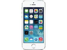 """Apple iPhone 5s 32GB 4G LTE Factory Unlocked GSM Cell Phone 4.0"""" 1GB RAM Silver"""