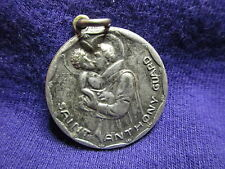 Vintage St Christopher/St Anthony Medal