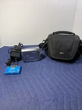 Canon Zr500 Mini Dv Stereo Camcorder w/carrying case And charger. Tested