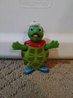 "2007 Tuck Turtle 3.25"" Mattel Bobble Head Action Figure Wonder Pets Nick Jr"