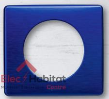 Plaque simple métal Céliane nuit d'encre Legrand 68781