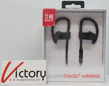 New Powerbeats3 wireless beats by dr. dre black earphones case bluetooth