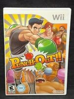 Punch-Out - Nintendo Wii Wii U Game Tested Working  Complete