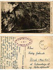 CPA Tatry. PIENNINY Pustelnia na ruinach Zamku bl. Kingi. POLAND Tatra (288997)