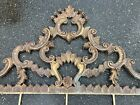 Antique French Italian Iron Headboard Full Ornate Rare Royal Fancy Rococo WOW!