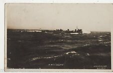 HMS Sylvia 1913 Real Photo Postcard #2, B536