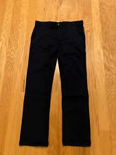 Chaps Boys Approved Schoolwear Navy Pants 20 Husky