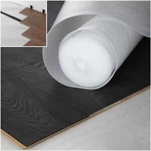 15m² - 30m² - 2mm Comfort White Foam Underlay Wood / Laminate Flooring Cheap