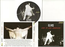 """ELVIS PRESLEY CD """"LIVE IN LOS ANGELES"""" 2018 TOUCHDOWN NOVEMBER 14 1970 INGLEWOOD"""
