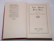 Carl Van Vechten - The Blind Bow Boy 1st British Edition 1926