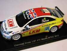 Chevrolet Cruze 1.6T, Macdowall 2012 Macau Touring Cars, Spark S2492  Resin 1/43