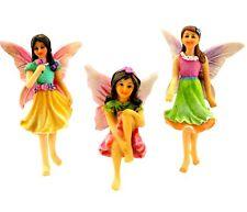 Fairy Garden – Accessories – Kit with 3 Miniature Fairies – Supplies By