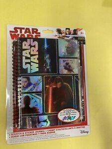 Star Wars Scratch And Sticker Journal